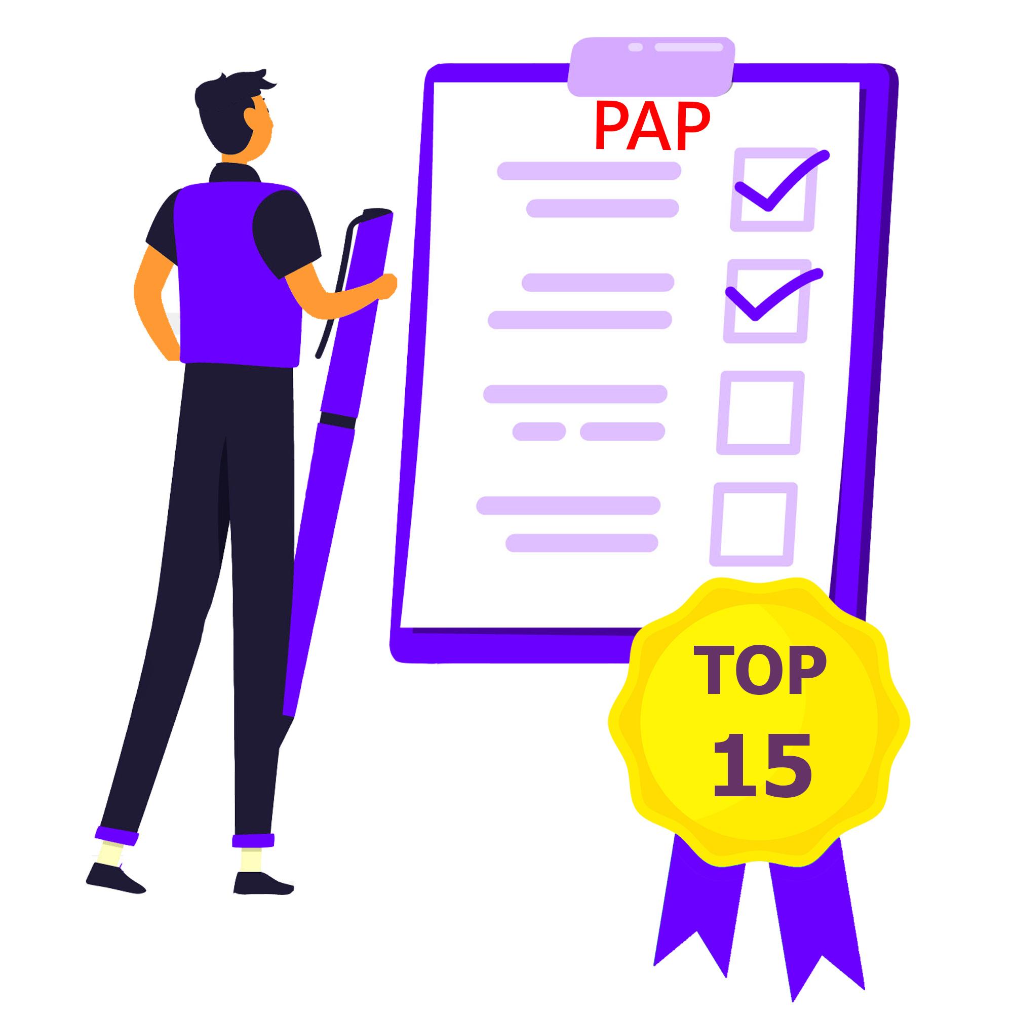 Miniature TOP 15 infos PAP