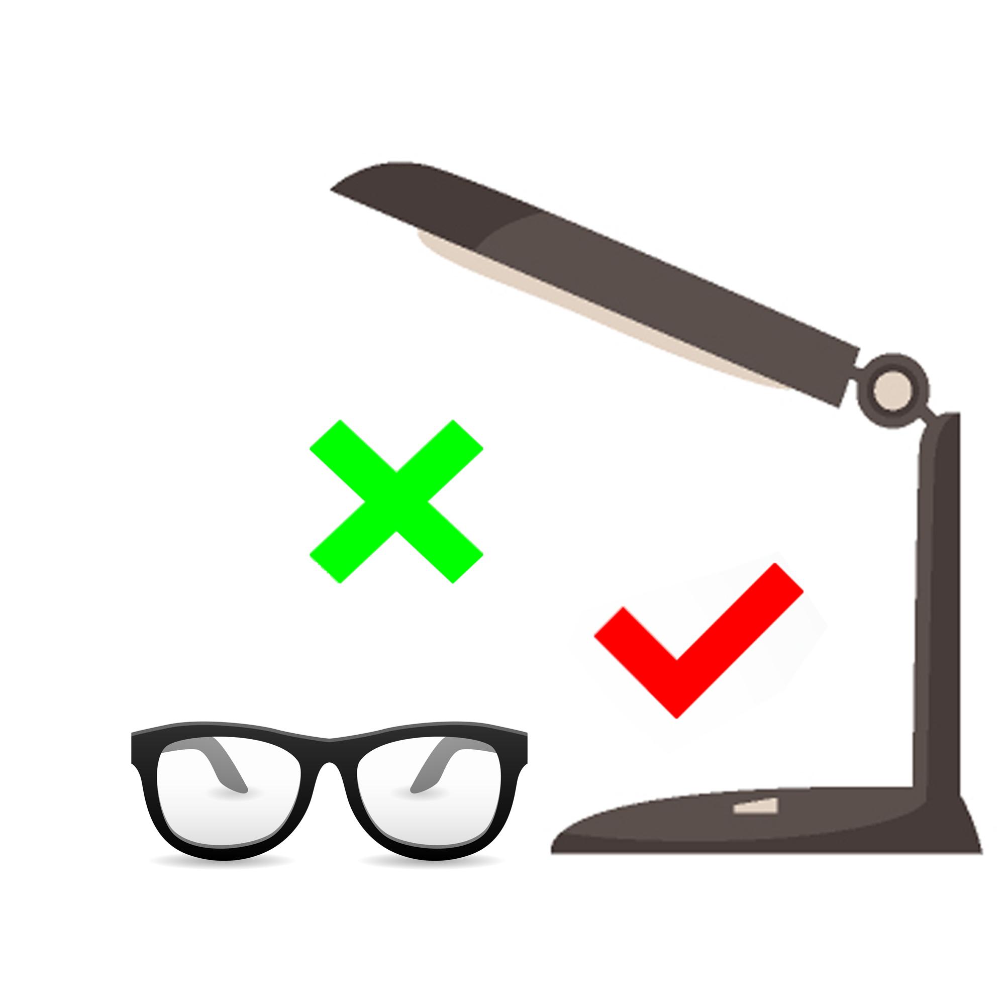 article lunette et lampe pour dyslexique