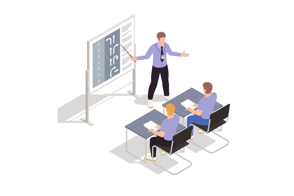 aménagements pour le passage du code
